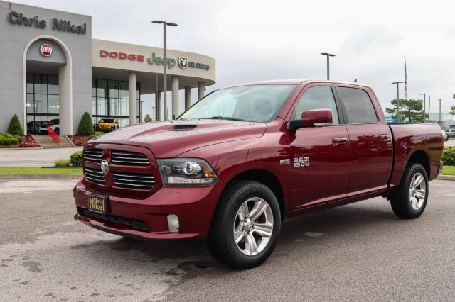2017 Dodge Ram 1500 >> Pre Owned 2017 Ram 1500 Sport With Navigation 4wd